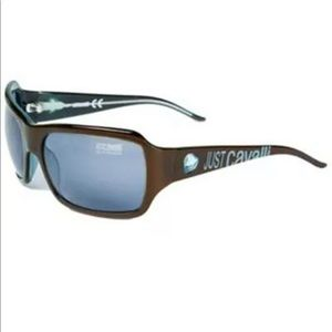 Just Cavalli Women Rectangular Sunglasses Brown